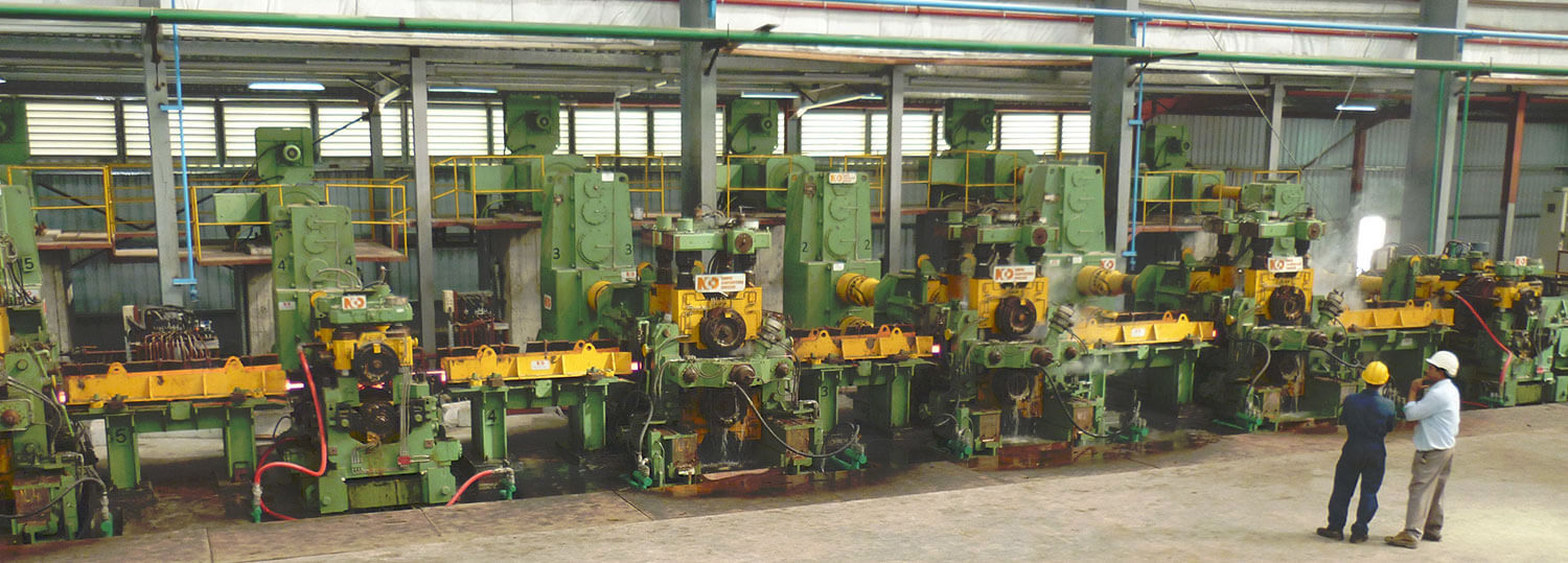 Steel section rolling stands manufacturer hot mills