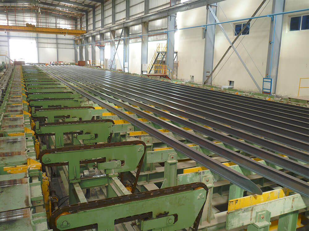 cooling bed steel section hot rolled engineering