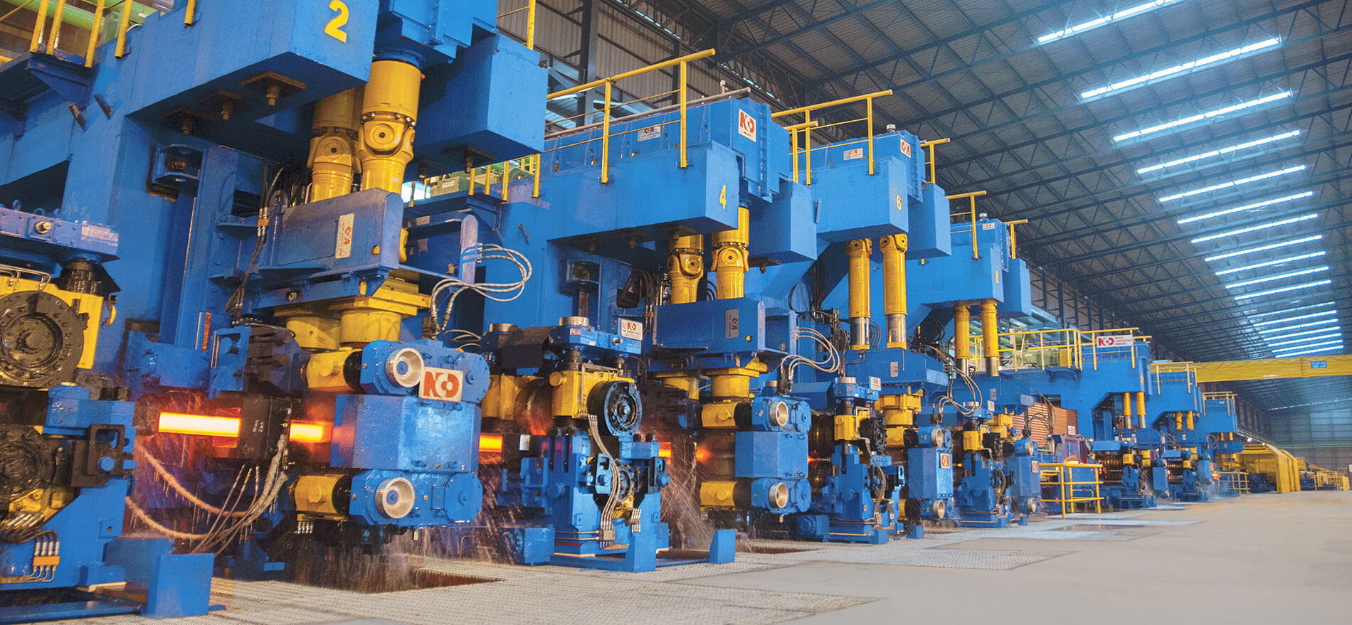 turn key hot rolling mill