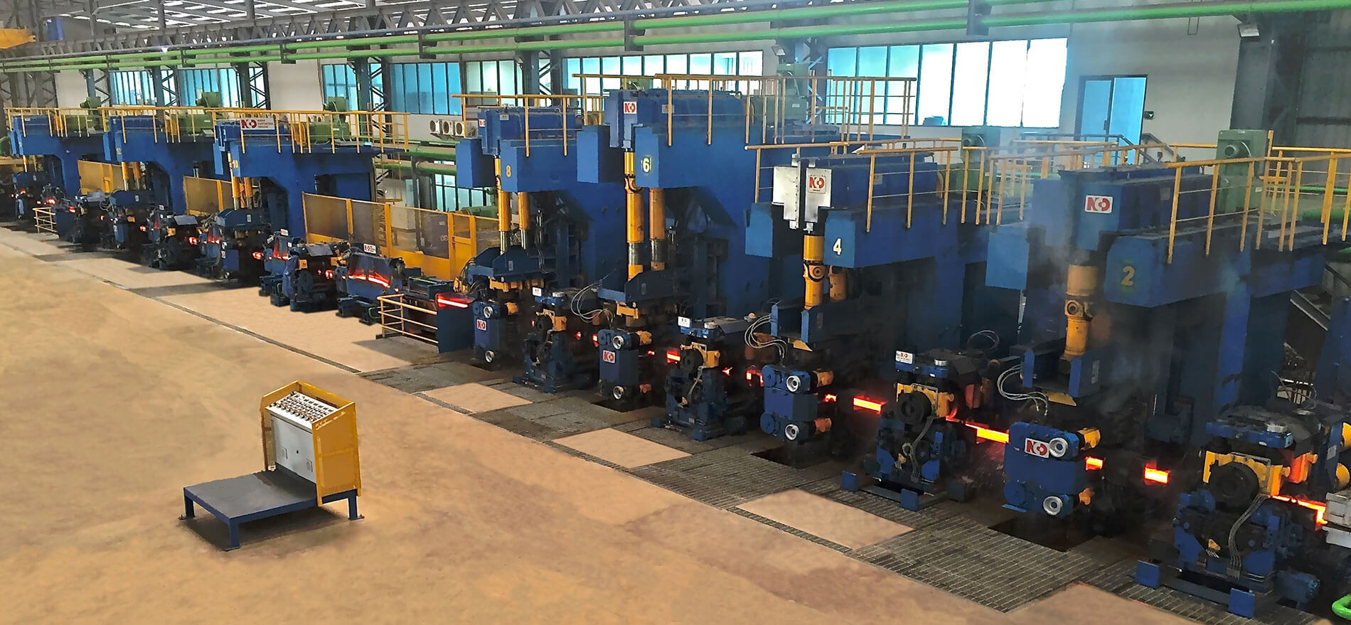 hot rolling mill long products